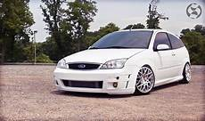 White Ford Focus Mk1 Svt From Usa Tuning And Big Rims