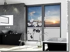 Sichtschutzfolie Orchidee Fensterperle De