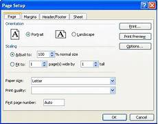 changing paper size for a complete workbook microsoft excel