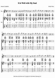 it is well with my soul philip p bliss sheet music for