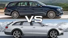 Audi Vs Mercedes - mercedes e class estate vs audi a6 allroad quattro