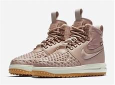 nike lunar force 1 duckboot particle pink aa0283 600 sneakerfiles