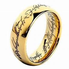 lord of the wedding rings lord of the rings wedding band ebay