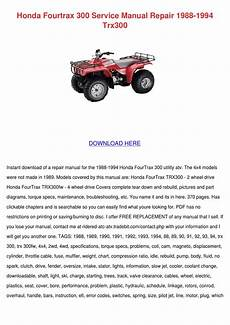 small engine repair manuals free download 1989 honda accord electronic throttle control honda fourtrax 300 service manual repair 1988 by eddycartwright issuu