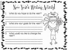 new year worksheets 19368 speechie freebies new year s writing activity