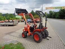 kleintraktor mit frontlader und strassenzulassung kleintraktor kubota b2420 24ps neu mit allrad frontlader