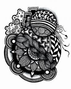 zentangle print zentangle tangle zentangle
