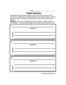 water pollution pollution worksheet 2 maysaa