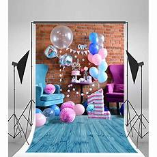 5x7ft Baby Happy Birthday Photography Backdrop by Hellodecor Polyester Fabric Photography Baby 1st Birthday