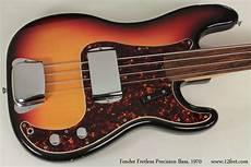fender fretless precision bass 1970 fender fretless precision bass