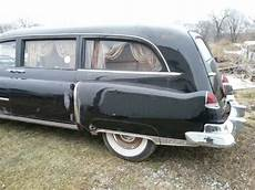 old car owners manuals 1996 buick hearse interior lighting 1950 cadillac s s hearse original unrestored v8 and 3 speed man 31 000 mile classic cadillac
