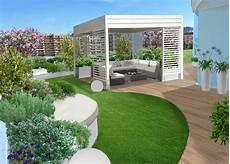 terrazza giardino pensile giardino pensile a pescara gartentr 228 ume nel 2019