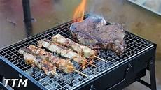mini portable charcoal grill review uten portable bbq