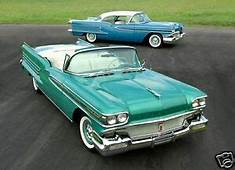 1958 Oldsmobile 98 Coupe & Convertible Refrigerator