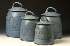 pottery kitchen canisters quail run pottery canister set western kitchen