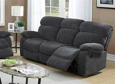 grey fabric reclining sofa a sofa furniture outlet