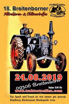 Traktortreffen Oldtimer Breitenborn Traktoren Oldtimer