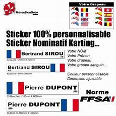 Sticker Nominatif Karting V 233 Lo Moto Jet Ski