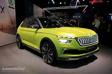 2019 skoda small suv previewed by vision x concept rides