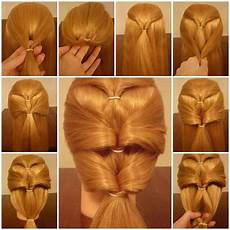 How To Make Hairstyles how to make inverted ponytails hairstyle diy tutorial