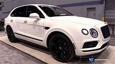 bentley bentayga edition 2018 bentley bentayga black edition exterior and