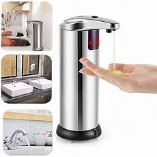 Bakeey 150ml Infrared Sensor Mini Automatical by Touchless Stainless Steel Soap Dispenser Automatic Ir