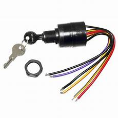Mercury Ignition Key Switch 6 Wire Replaces 17009a2