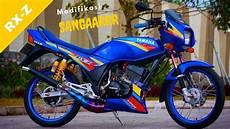 Modifikasi Lawas by Modifikasi Sangarrr Motor Lawas Yamaha Rxz 135