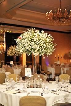 tall babys breath cloud wedding centerpiece wedding wedding decorations wedding
