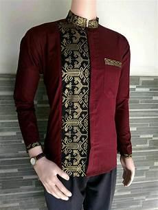 jual baju koko kemeja batik pria kemeja lengan panjang muslim di lapak kevin collection