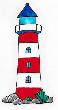 Window Color Malvorlagen Leuchtturm Fensterschmuck Leuchtturm Window Color Fensterbild