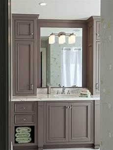 Bathroom Ideas Brown Cabinets by Best Style Bathroom With Brown Cabinets Design Ideas