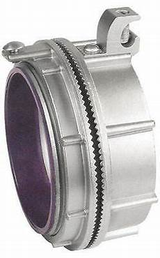 1 quot die cast zinc myers hub with grounding lug of 2