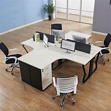 simple home office furniture simple modular office furniture melamine pannel t shape