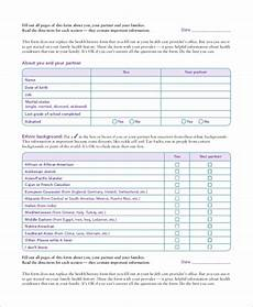 free 10 sle medical history forms in ms word pdf