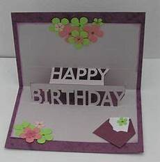 happy birthday pop up card free template cricket