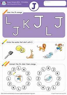 phonics worksheets letter j 24389 letter recognition phonics worksheet j uppercase simple