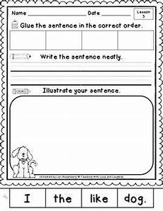 writing sentences worksheets for kindergarten 22094 16 best images of kindergarten writing sentences worksheet sentence worksheets asking and