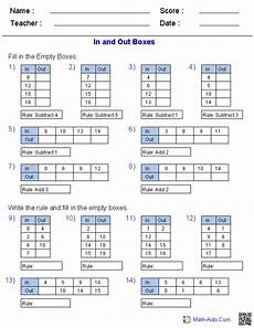 complete the function table for each equation worksheet answer key brokeasshome com