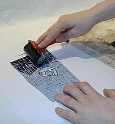 Apprendre La Lino Gravure D I Y Woodblock Print