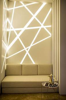 lighting in wall decoration love this look use strip light channels in drywall to achieve it lightingdesign in 2019