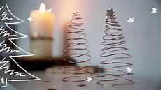 Weihnachtsbaum Aus Draht - diy kupfer tannenbaum aus draht