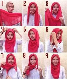 Cara Pakai Jilbab Segi Empat Simple Dan Modis Style