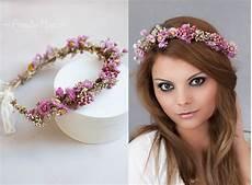 Blumenkranz Haare Echte Blumen - blumenkranz haarkranz haarband braut haarschmuck
