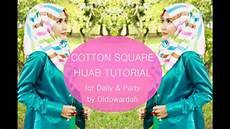 Tutorial Katun Segi Empat Santai Pesta By Didowardah