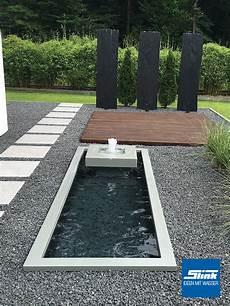 Wasserobjekt Formales Becken Mit Alumento 60 Slink