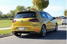 team review of the volkswagen golf r line continental