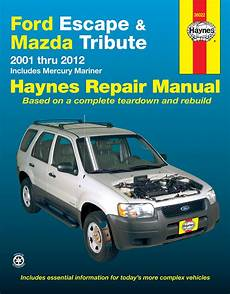 auto air conditioning service 2001 ford escape electronic valve timing ford escape mazda tribute 01 12 inc mercury mariner 05 11 haynes repair manual haynes