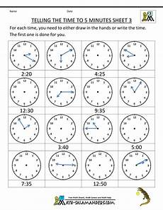 free printable telling time worksheets 3rd grade 3687 telling time clock worksheets to 5 minutes with images time worksheets telling time