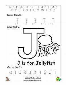 Letter J Alphabet Worksheets